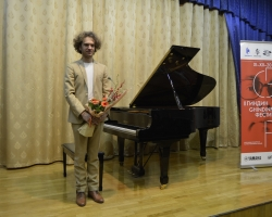 Концерт Жюльена Либера (фортепиано, Бельгия) в рамках Второго международного музыкально-просветительского проекта «Гиндин-фестиваль» 28.11.18