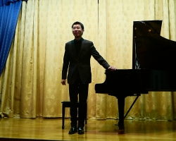 Вечер фортепианной музыки Джай Си (фортепиано, Китай) 29.12.18