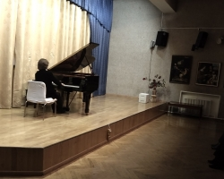 Вечер фортепианной музыки. Пианист и композитор Владимир Свердлов-Ашкенази 09.03.2020