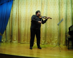 Вечер скрипичной музыки. Заслуженный артист России Граф Муржа 20.05.18