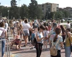 Впервые в Черноголовке. Фестиваль красок. 27.07.19
