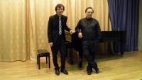Концерт камерной музыки. Дмитрий Васильев (скрипка), Михаил Мордвинов (фортепиано). 21/05/2015г.