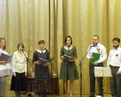Концерт военной песни хора Никольского храма 14/05/2017