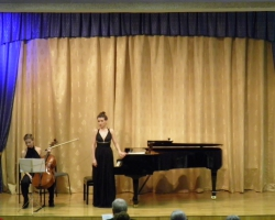 «YAMAHA chamber series».  Т. Куделич (фортепиано) и Н. Калашникова (виолончель). 26/11/16г.