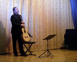 Концерт Аркадия Иванникова (классическая гитара) 10.02.2019