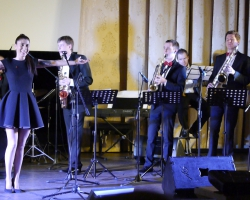 Концерт эстрадной и джазовой музыки Spring Jazz, Cherry street band и Аурика Мгои - 07.03.18 (автор А. Мушенок и А. Федотов)