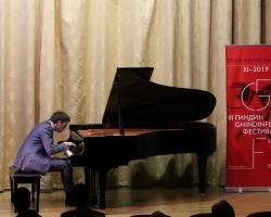 Концерт Финина Коллинза (фортепиано, Ирландия) в рамках Третьего международного музыкально-просветительского проекта «Гиндин-фестиваль» 27.11.19