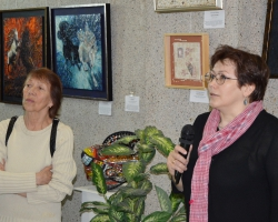 Презентация персональной выставки мозаики члена Творческого союза художников России Александры Мишель 29.04.18