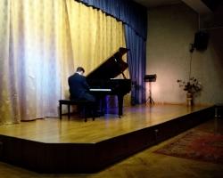 Вечер фортепианной музыки лауреата международных конкурсов Николая Кожина 26.10.19