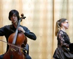 Вечер камерной музыки. Макио Хориэ (виолончель, Япония), Анастасия Соколова (фортепиано) - 28.02.18 (автор А.А.Федотов)