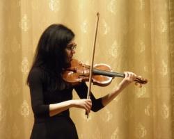 Вечер скрипичной музыки - Наташа Липкина - 01.02.18