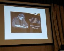 Вечер воспоминаний, посвященный члену-корреспонденту РАН Г.Б.Манелису (1930 -2015) 01.10.2020