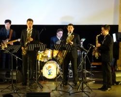 «Весенний джаз». Концерт Cherry saxophone band под руководством Дениса Козьминых 07.03.19 (фото А.Федотов)