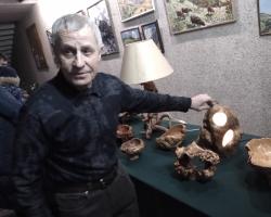 Выставка декоративно-прикладных работ по дереву «Березовая песня» Кима Кагана 09.02.20