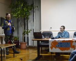 Встреча с камышинским путешественником Иваном Ширяевым 25/10/2017