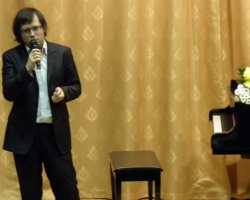 Сергей Арцибашев в Большой гостиной. 24/12/15г.
