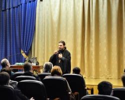 Лекция для школьников и студентов иеромонаха Дмитрия (Першина) 19/03/2017