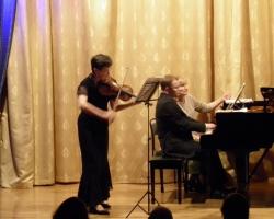 Вечер камерной музыки И.Бочкова (скрипка), С.Воронов (фортепиано) 05/02/2017