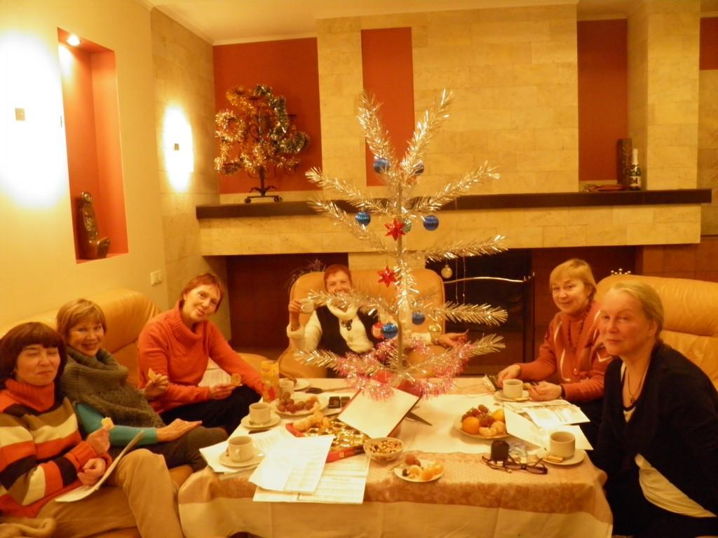 Рождество в французском клубе